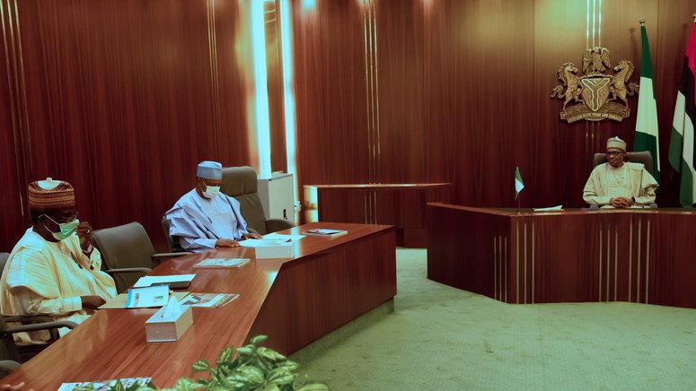 Again, Buhari meets leadership of APC Governors to discus crisis ...