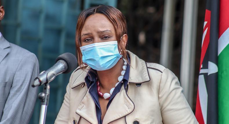 Health CAS Dr Mercy Mwangangi