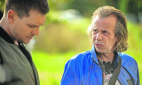 Srđan Žika Todorović i Miloš Biković u filmu