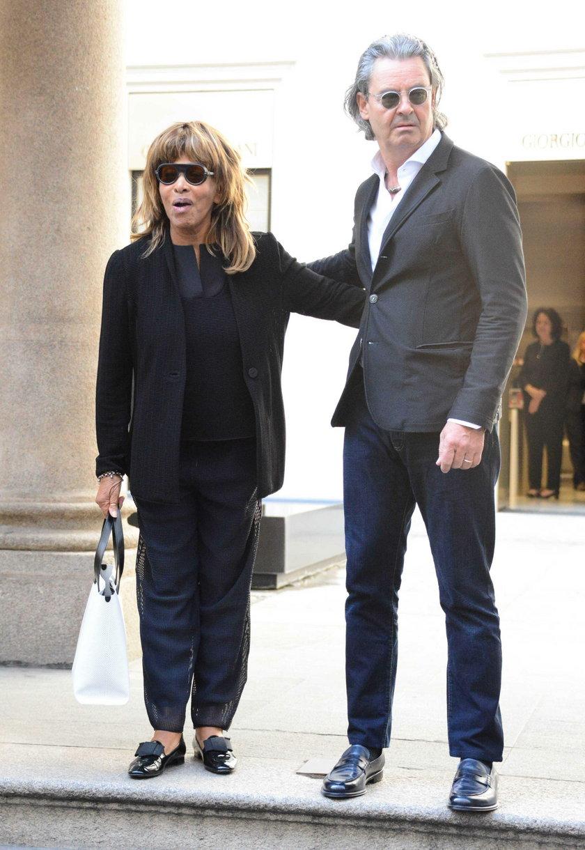 Tina Turner z mężem