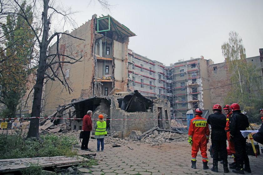 Katastrofa budowlana przy ul. Rewolucji w Łodzi