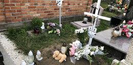 Skromny pogrzeb 9-miesięcznej Blanki z Olecka. Pożegnali ją krewni
