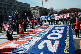 USA: 'Zatrzymać oszustwo' - w Waszyngtonie odbył się marsz sympatyków Trumpa