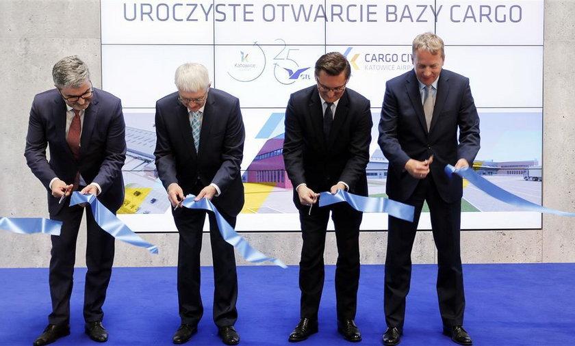 Otwarcie terminalu Cargo w Pyrzowicach