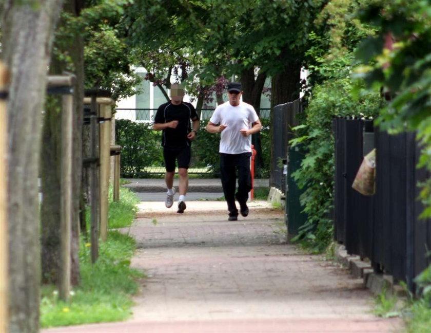 Donald Tusk, jogging, premier, bieganie