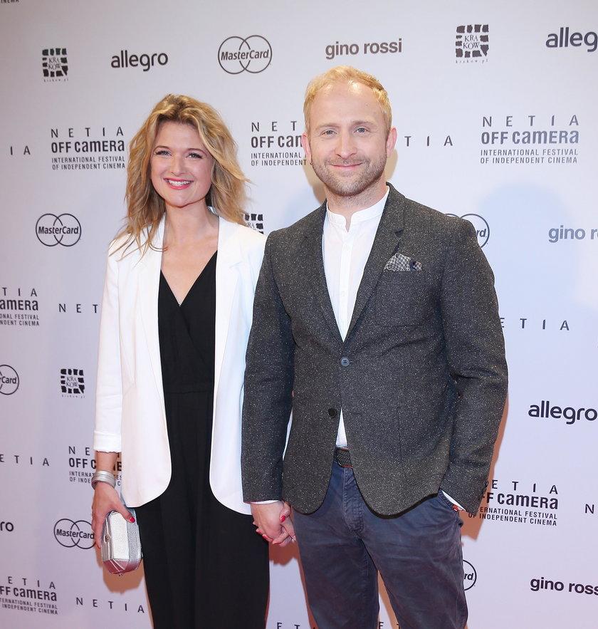 Borys Szyc i Justyna Jeger-Nałowska tworzą piękną parę