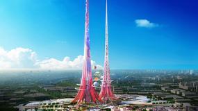 Phoenix Towers w Wuhan będą najwyższymi budynkami na świecie; wieże mają również oczyszczać środowisko