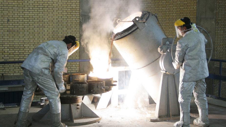 Wzbogacanie uranu w Iranie
