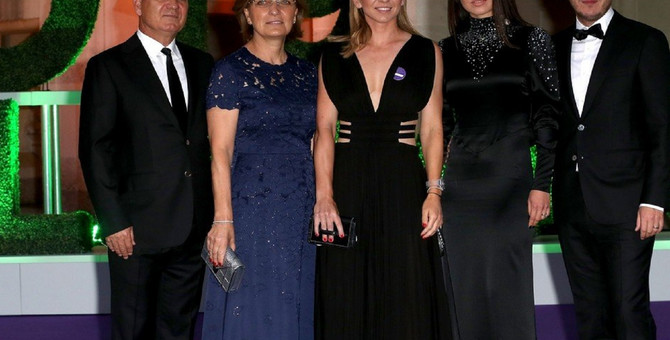 Simona Halep sa porodicom