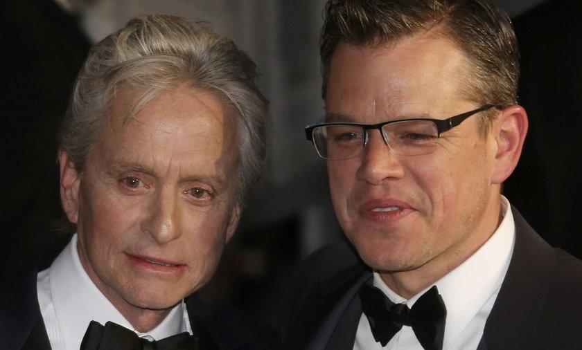 Michael Douglas i Matt Damon