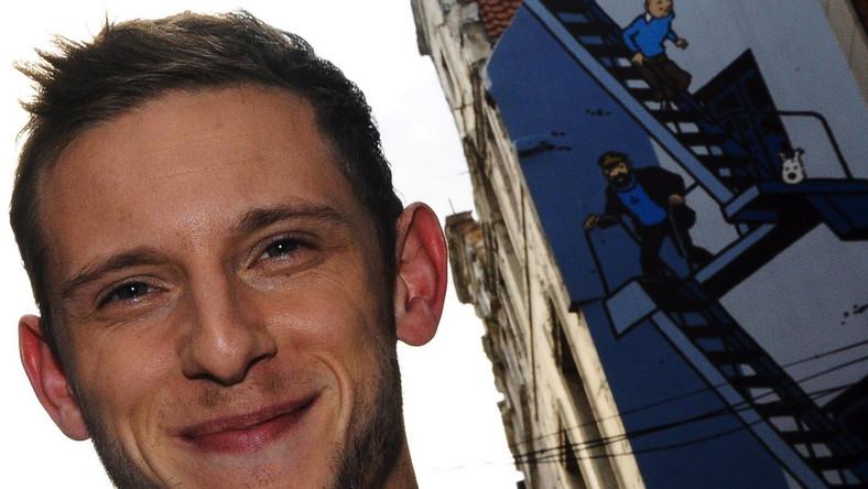 """Jamie Bell na promocji """"Tintina"""""""