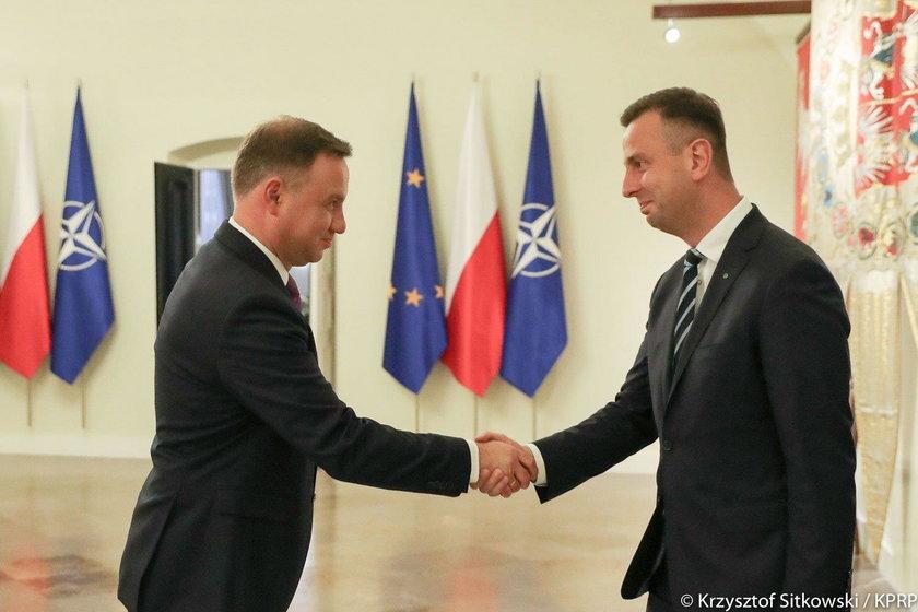 Andrzej Duda i Władysław Kosiniak – Kamysz
