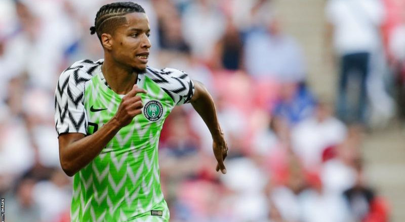 Super Eagles coach Gernot Rohr calls up Benfica defender Tyronne Ebuehi to replace injured Kenneth Omeruo for Brazil friendly