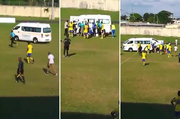 Gabon, Smrt fudbalera