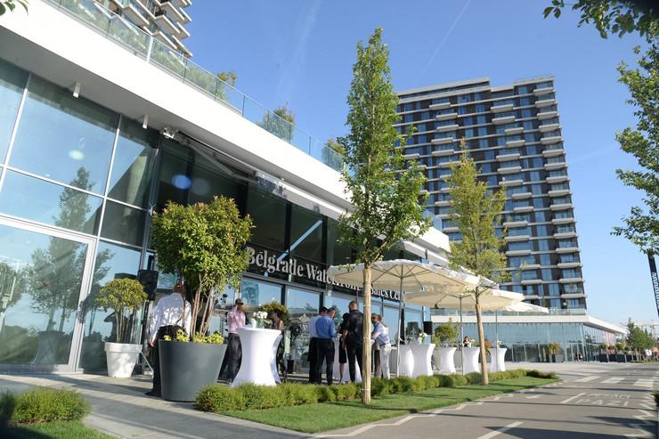 Prodajni centar kompanije Belgrade Waterfront na Sava Promenadi
