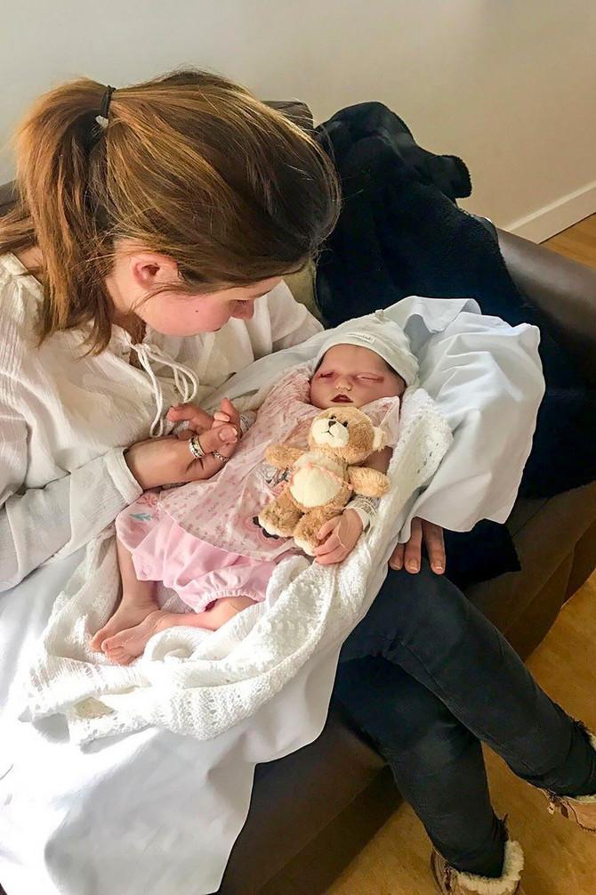 Bilo joj je jako teško što beba nije zaplakala