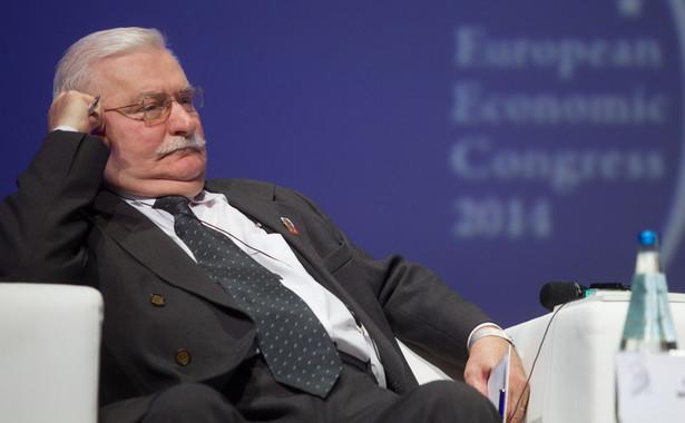 Były prezydent Lech Wałęsa. Fot. PAP/Andrzej Grygiel