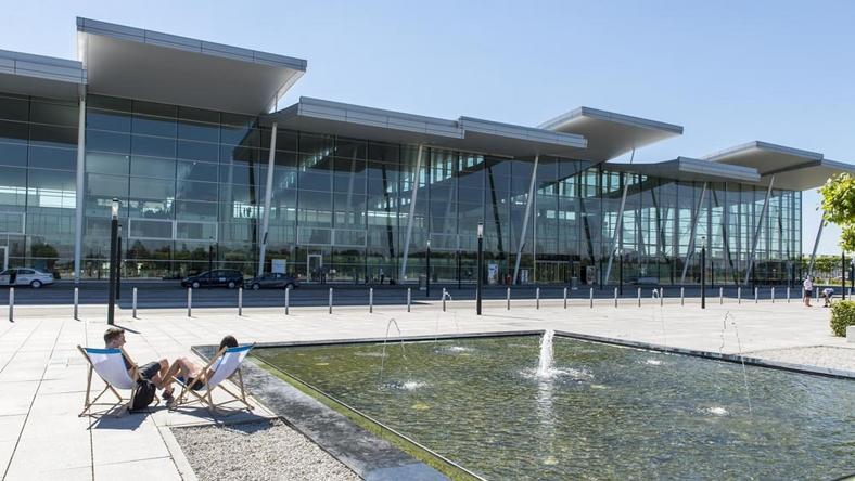 Rekordowy kwartał wrocławskiego lotniska