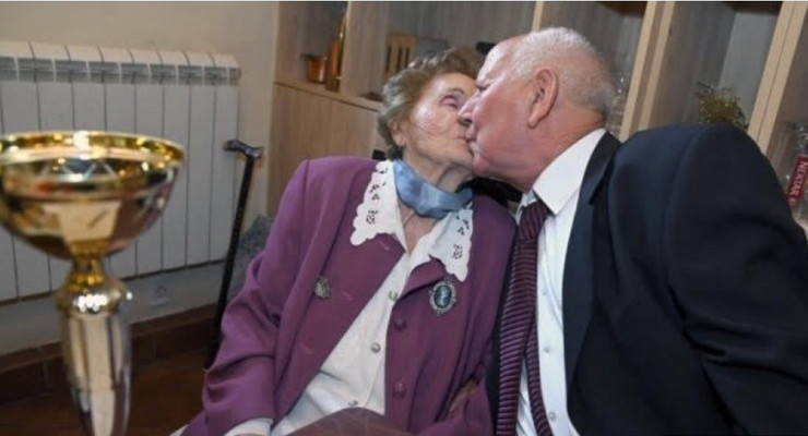 Milan i Damjanka Antonijević 70 godina braka