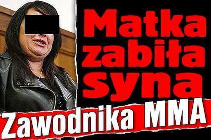 Tragedia w Łodzi. Matka zabiła syna. Zawodnika MMA