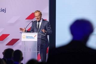 Tusk: Wróciłem na 100 procent. Dzisiaj zło rządzi w Polsce, będziemy się z nim bić
