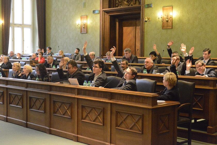 Sesja Rady Miasta we Wrocławiu