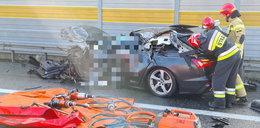 Tragiczny wypadek na A1 pod Toruniem. Jedna osoba nie żyje