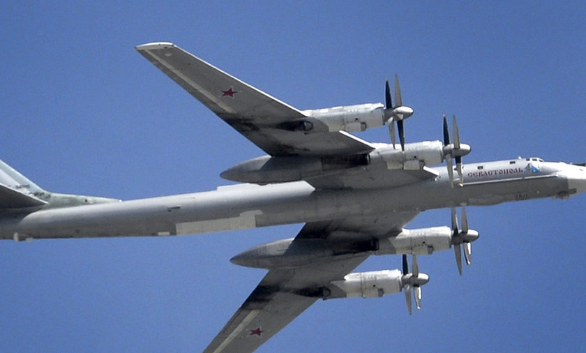 Rosyjski samolot TU-95