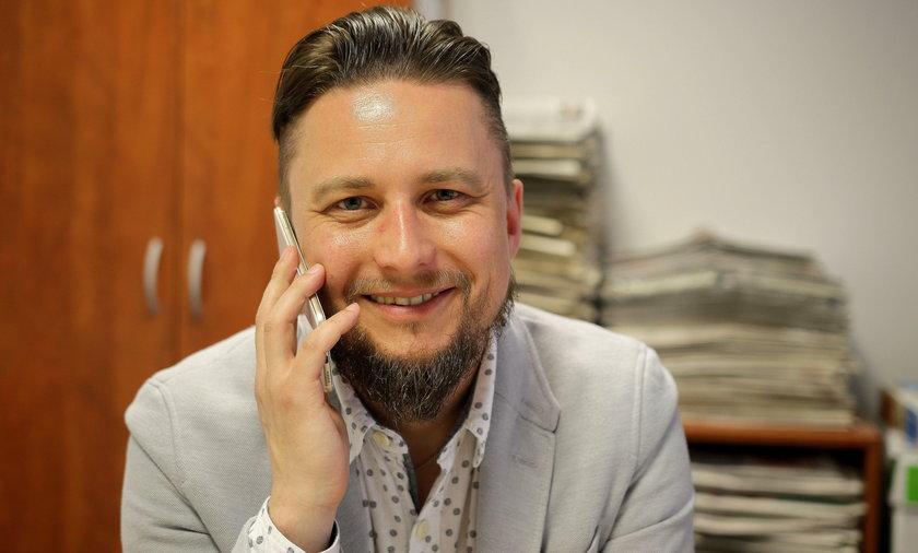 Krzysztof Cieszyński z ZUS