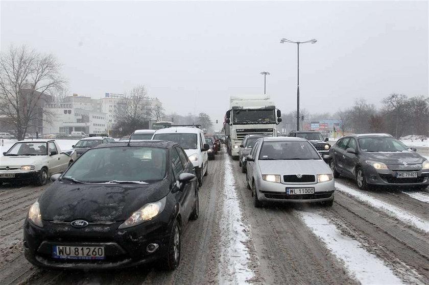Zima sparaliżowała Polskę w środku... zimy! ZDJĘCIA