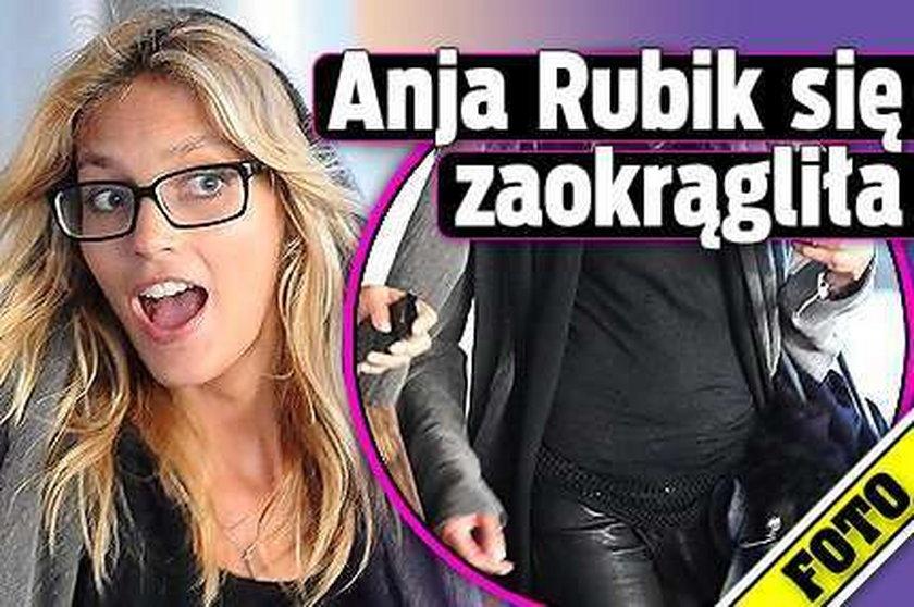 Anja Rubik się zaokrągliła! FOTO