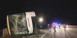Wypadek polskiego autokaru w Niemczech! 11 osób rannych
