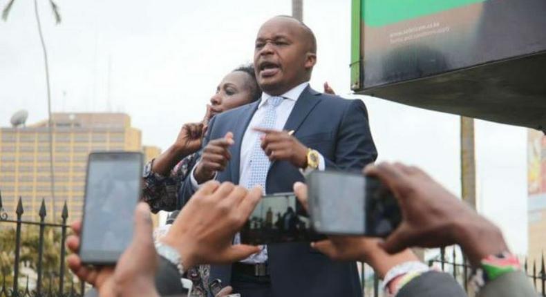 Jaguar speaks after being arrested outside Parliament