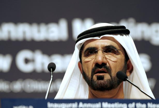Szejk Mohammed bin Raszid al Maktum, władca Dubaju, a zarazem wiceprezydent i premier Zjednoczonych Emiratów Arabskich