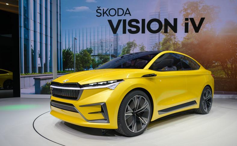 Skoda VISION iV zmieni się w Skodę ENYAQ iV coupe