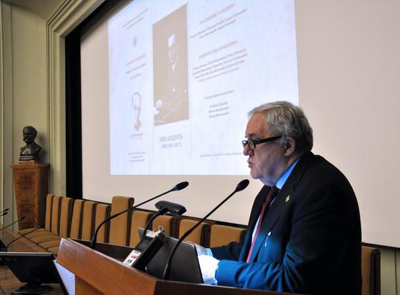 Predsednik SANU Vladimir Kostić