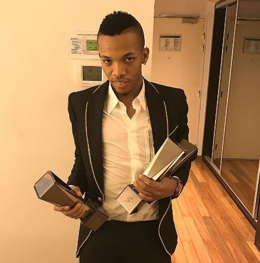 Tekno with a number of awards in the past [Instagram/Tekno]