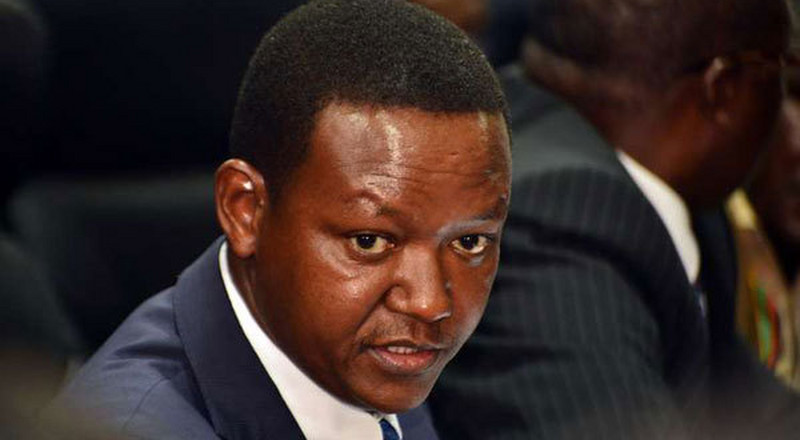 Alfred Mutua reveals how Senators extort money from Governors