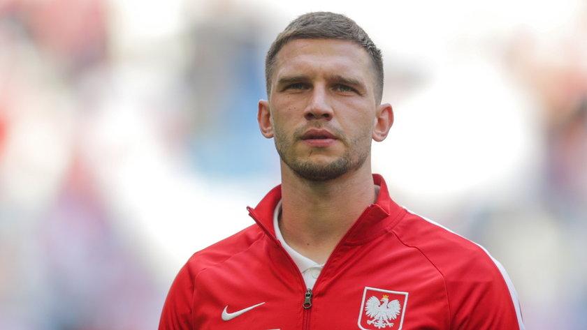 Jakub Świerczok jest napastnikiem Piasta Gliwice. Na Euro 2020 liczy, że Paulo Sousa na niego postawi