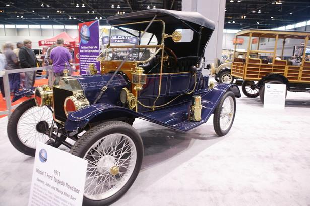 Ford model T - for. Lukasz Bizon / Shutterstock.com