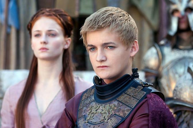 Džofri i Sansa Stark