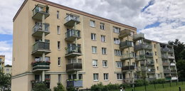 Roczne dziecko wypadło z czwartego piętra w Olsztynie