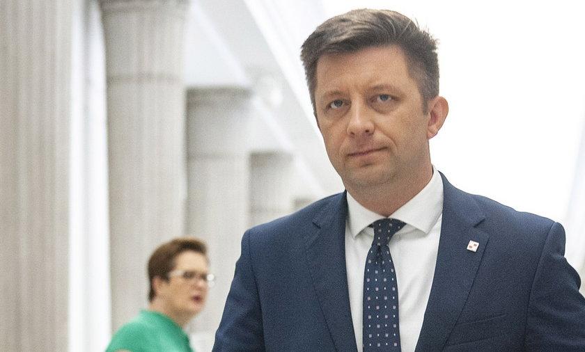 Szef KPRM, pełnomocnik rządu ds. programu szczepień Michał Dworczyk.
