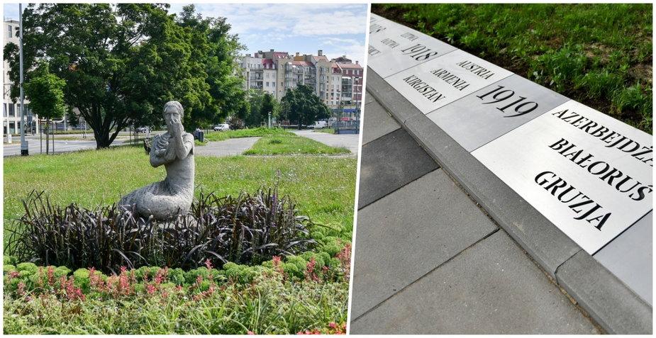 Bulwar Słoneczny we Wrocławiu. Upamiętnia nadanie praw wyborczych kobietom!