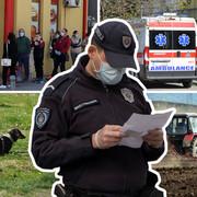 policijeski cas kombo RAS MItar Mitrovic, Nenad Mihajlovic, Nenad Pavlovic, Sinisa Pasalic