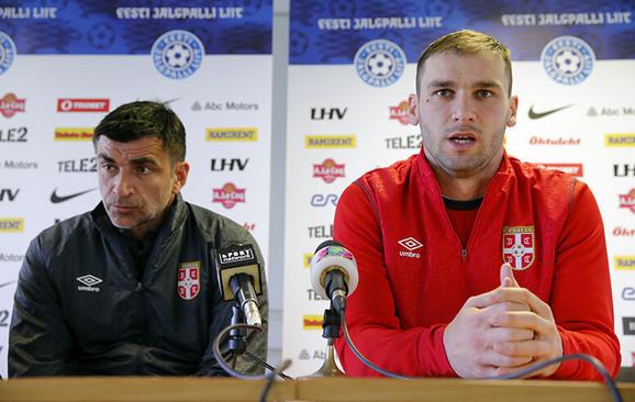 Radovan Ćurčić i Branislav Ivanović