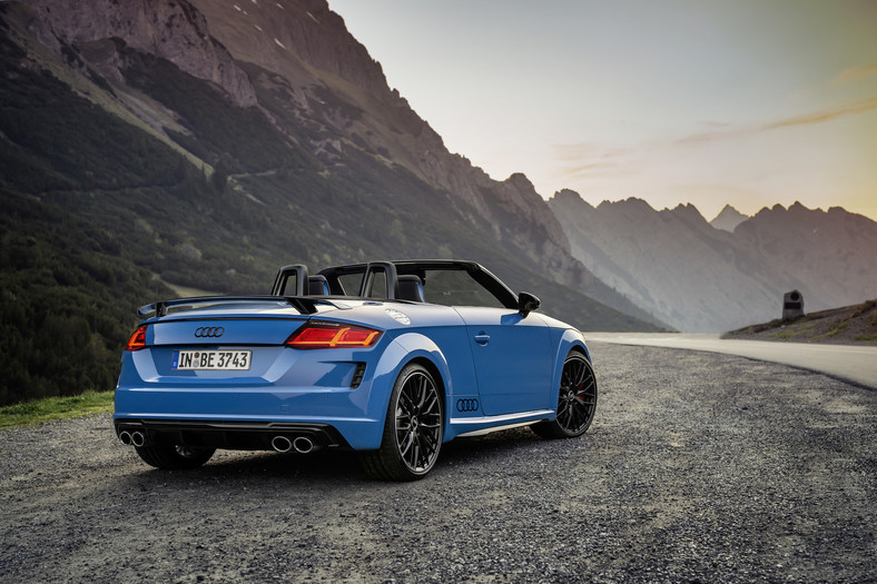 Audi TTS Roadster competition plus