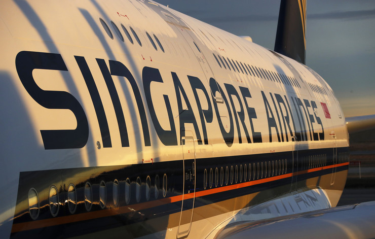 singapur erlajns