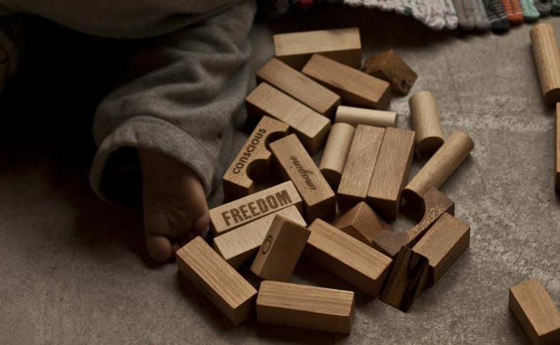 Klocki firmy Wooden Story wysyłane są m.in. do Japonii