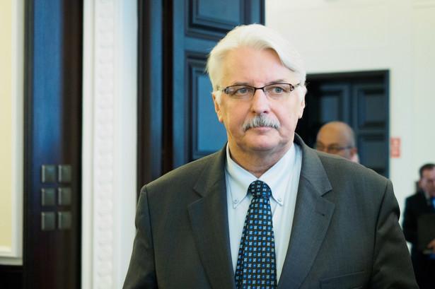 Według Waszczykowskiego nie ma powodów, aby czynniki europejskie przyjmowały rezolucję na temat Polski.